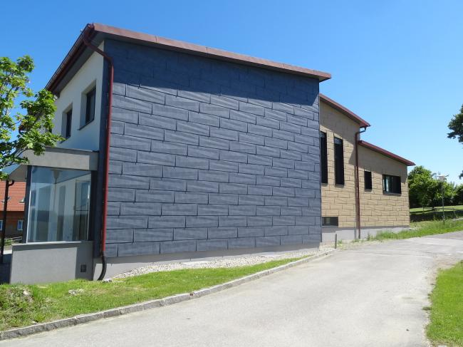 prefa metallfassade fx 12 dachdeckerei spenglerei ewald leichtfried. Black Bedroom Furniture Sets. Home Design Ideas